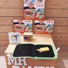 Organico-Saludable, - Sostenible 🧡🧡🧡  De Green Toys🌱🌱, nos llega este Set de Eco plastinia, fabricada con harina Organica. Este Set de 8 piezas, es el kit perfecto para que los peques jueguen con la platilina de una forma segura. 😍 Y el embasado esta realizado con materiales Reciclados y reciclabes e impreso con tinta de Soja.  #mrbambukids#reciclaje #planetatierra🌎 #plastilinaorgánica #juguetessostenibles #aprenderjugando #juegosdidacticos #juegosdemesa